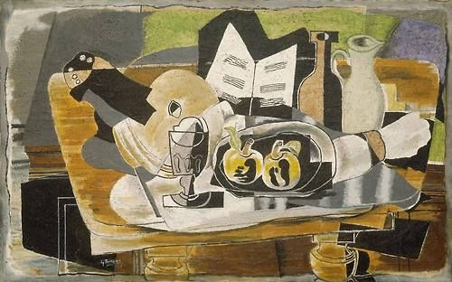 Georges Braque  Still Life, The Table  1928