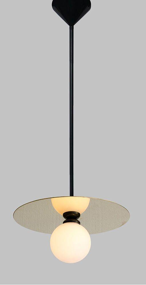 Atelier areti disc and sphere pendant chiara colombini