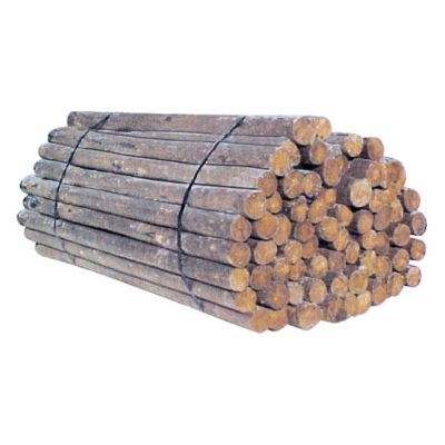 Treated Wood Post 3 5 In 4 In X 6 5 Ft In 2020 Wood Fence Post Wood Post Wooden Fence Posts