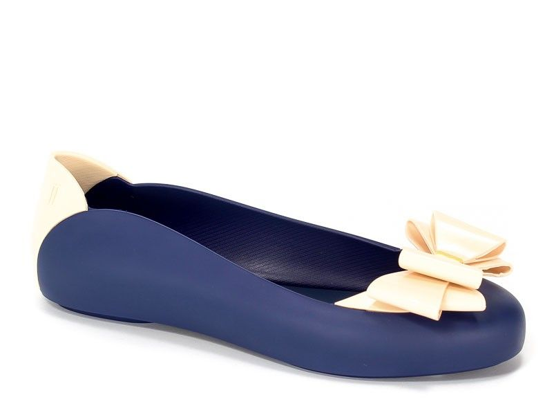 Baleriny Melissa M31931 51775 Blue Beige Beige Blue Melissa