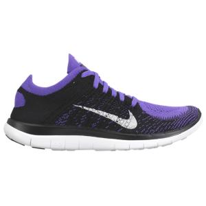 online store cf6d6 7b826 Nike Free 4.0 Flyknit - Women s - Black White Hyper Grape