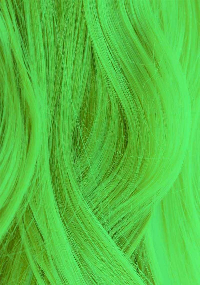 Iroiro 350 UV Reactive Green Neon Vegan Cruelty Free Semi