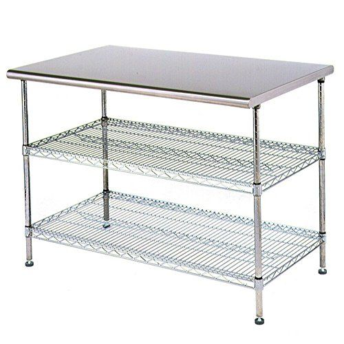Stainless Steel Work Table Food Prep X With Chrom Https - Stainless steel work table price