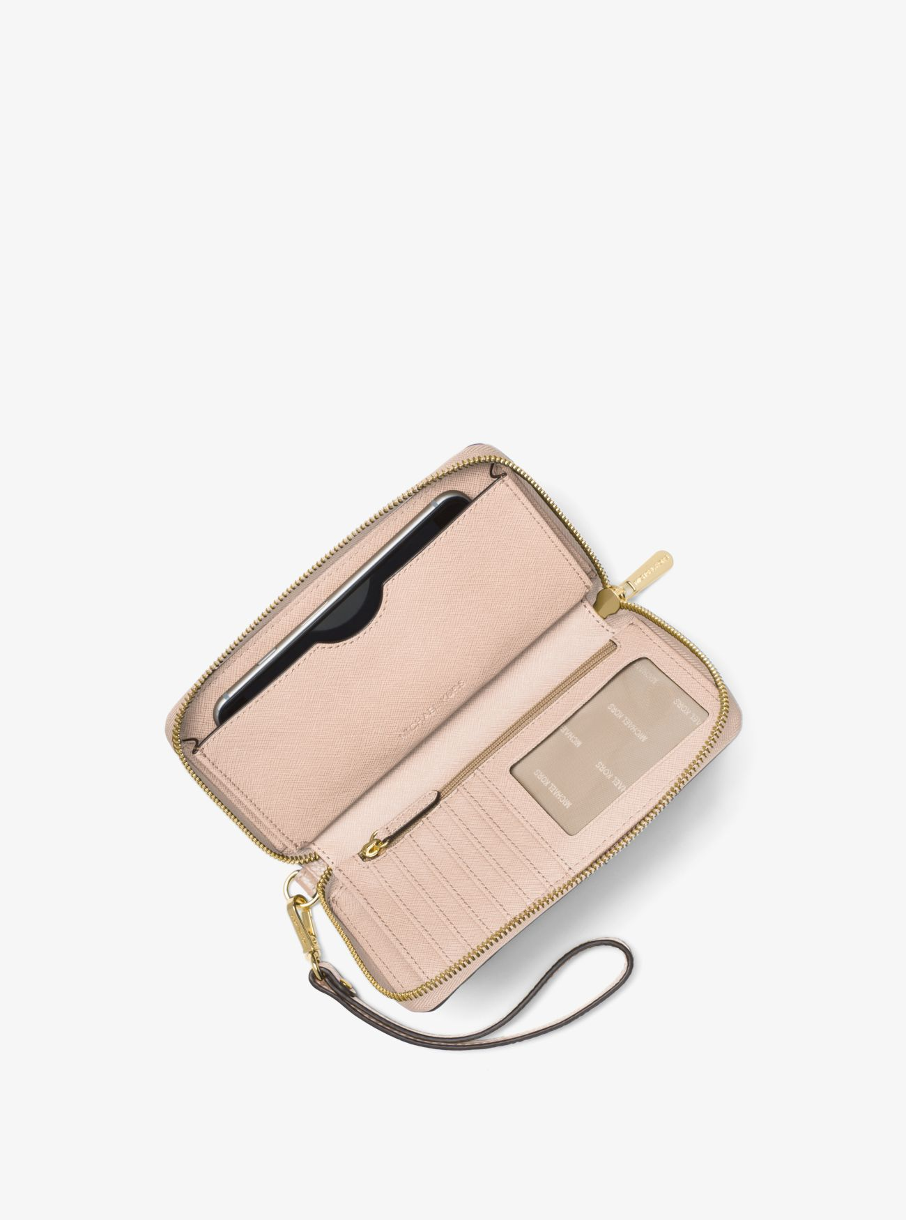 3c68363c691c Large Leather Smartphone Wristlet. Large Leather Smartphone Wristlet Zip  Around Wallet ...