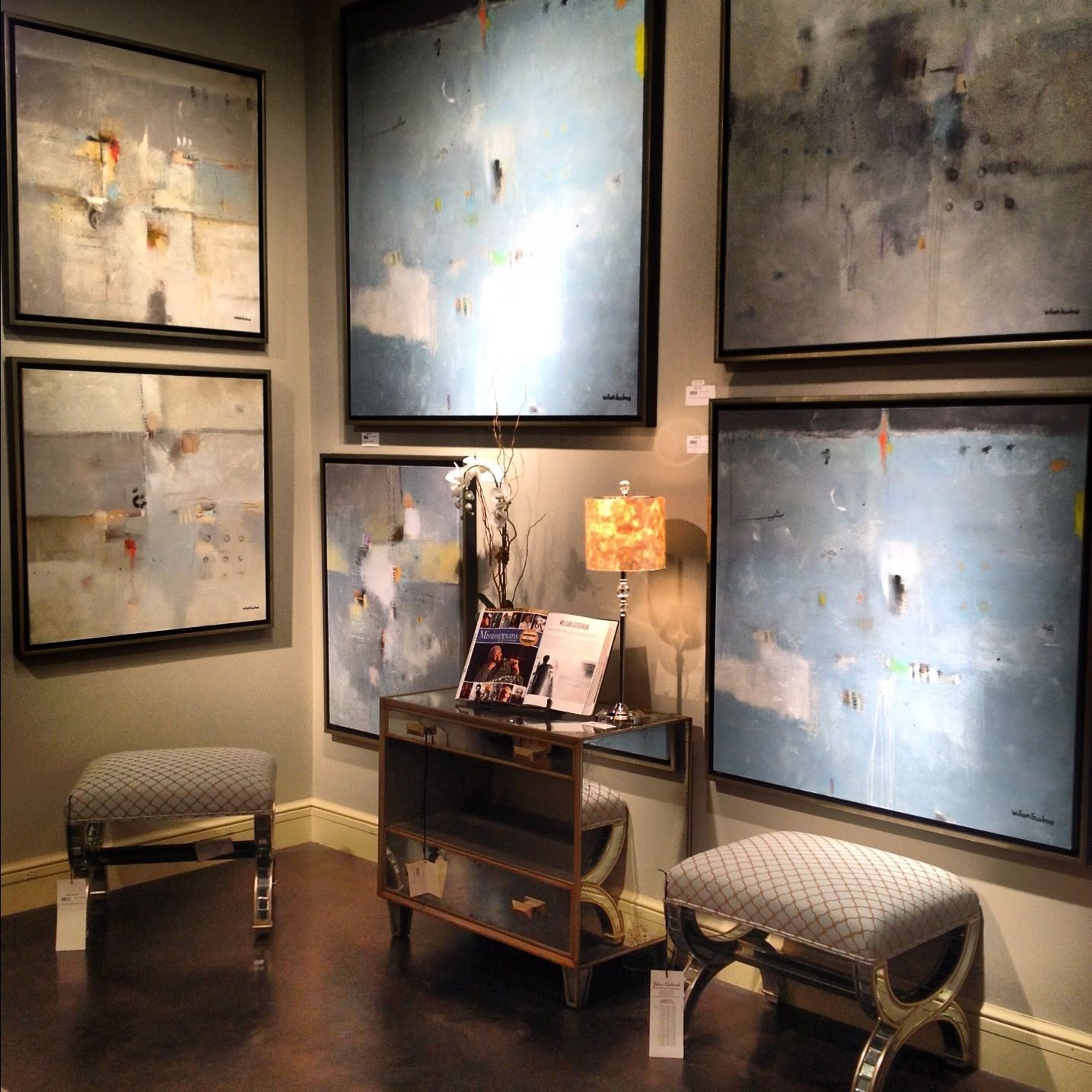 Unique Mixed Media Works By Our Featured Artist, Jackson, MS Based William  Goodman.