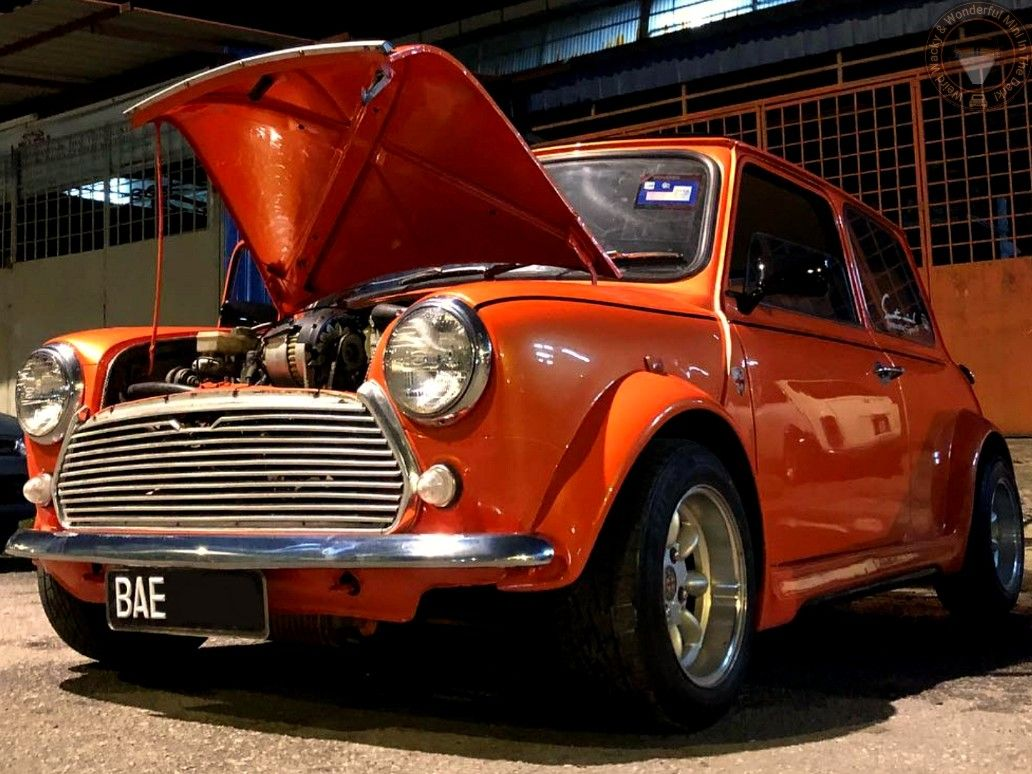 790c46a47009 Now that s a bloomin lovely  WideArchedWednesday MINI IN THE DARK ...