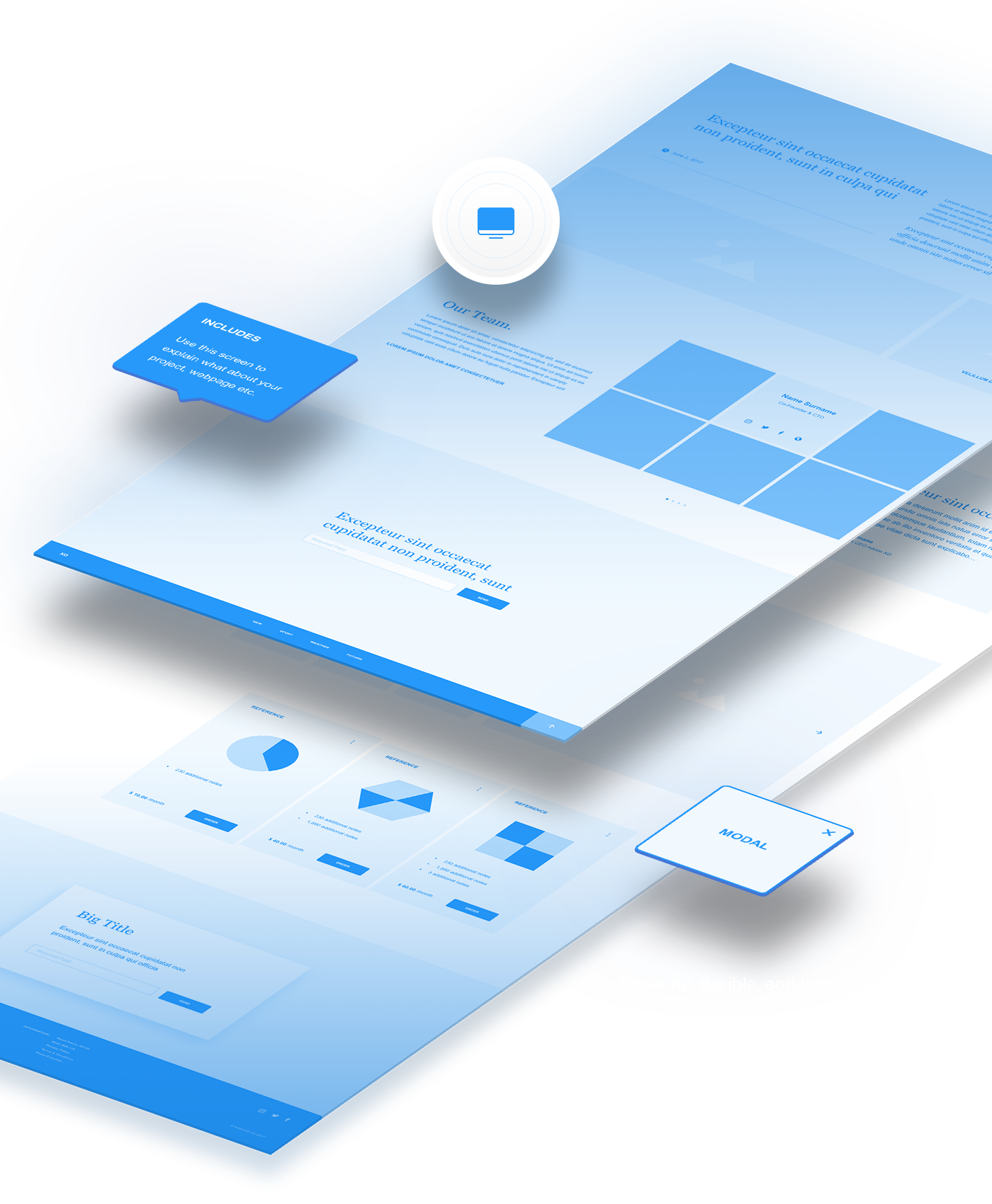 Two FREE wireframe UX kits for mobile and web, built exclusively for ...