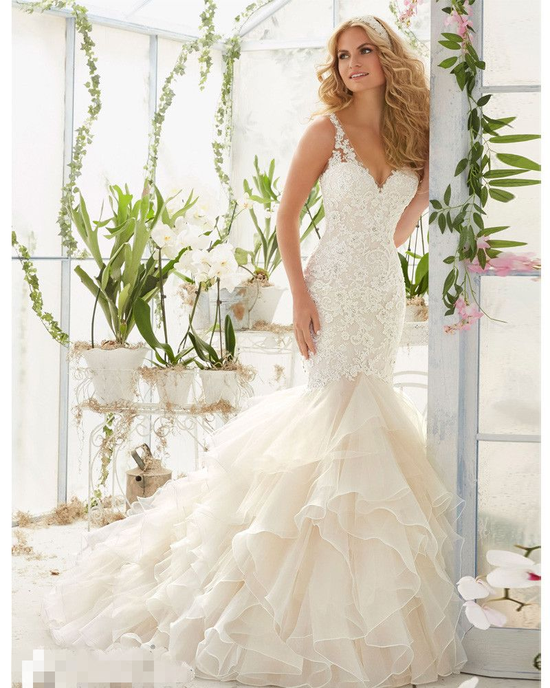 Find More Wedding Dresses Information about New Luxury Sexy Backless ...