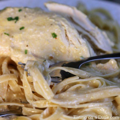 Try this easy Crock pot Chicken Alfredo recipe. I think you will love this Crock pot Chicken Alfredo recipe with these easy ingredients.