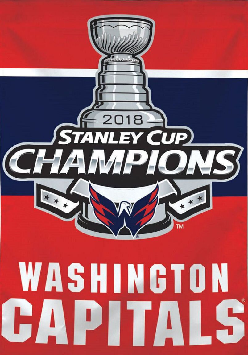 9c21e09283dde9 Nhl Stanley Cup Champions, Nhl Washington Capitals, Outdoor Flags, Champs,  National Hockey
