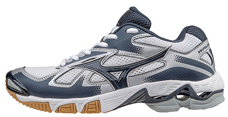 7bd1d28153d4 Check out the NEW Mizuno Women's Wave Bolt 5 Shoes! - White/Navy - Sizes:  6-12, 13