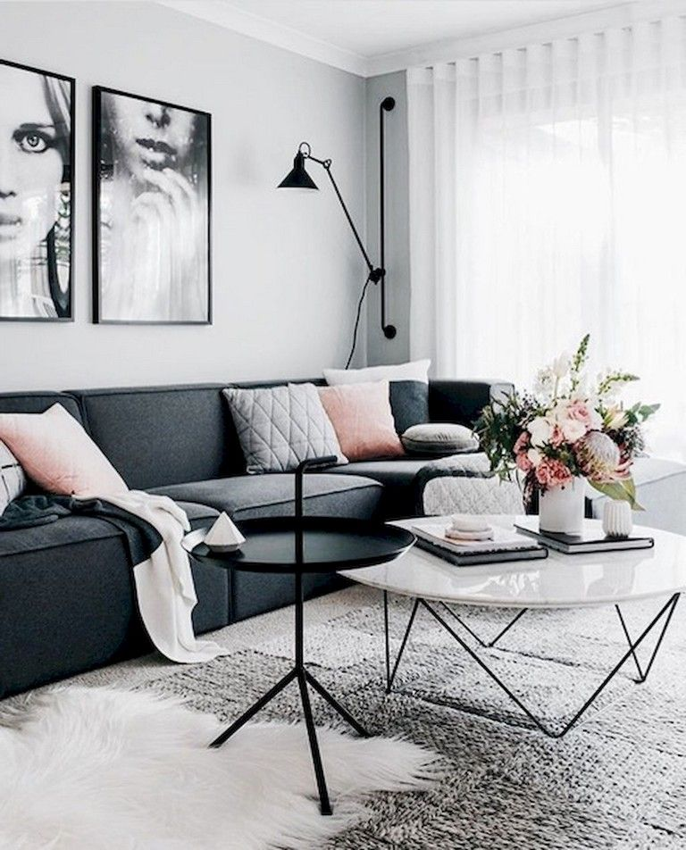 80 Awesome Scandinavian Style Living Room Decor Design Ideas Living Room Scandinavian Small Apartment Living Room Scandinavian Design Living Room