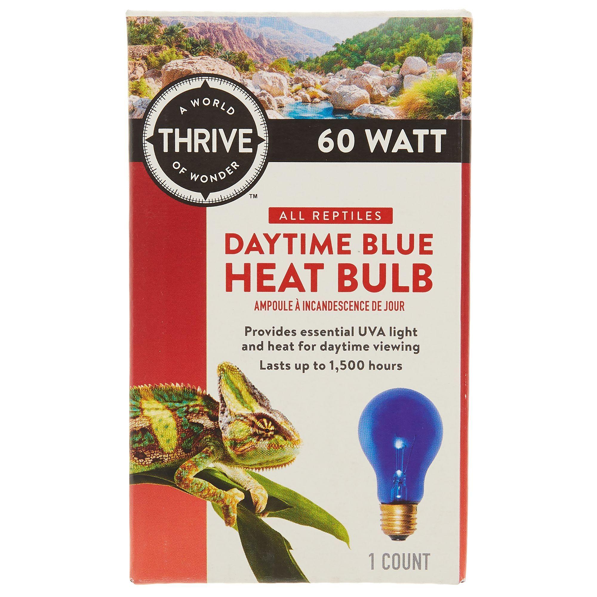 Thrive Daytime Blue Reptile Heat Bulb