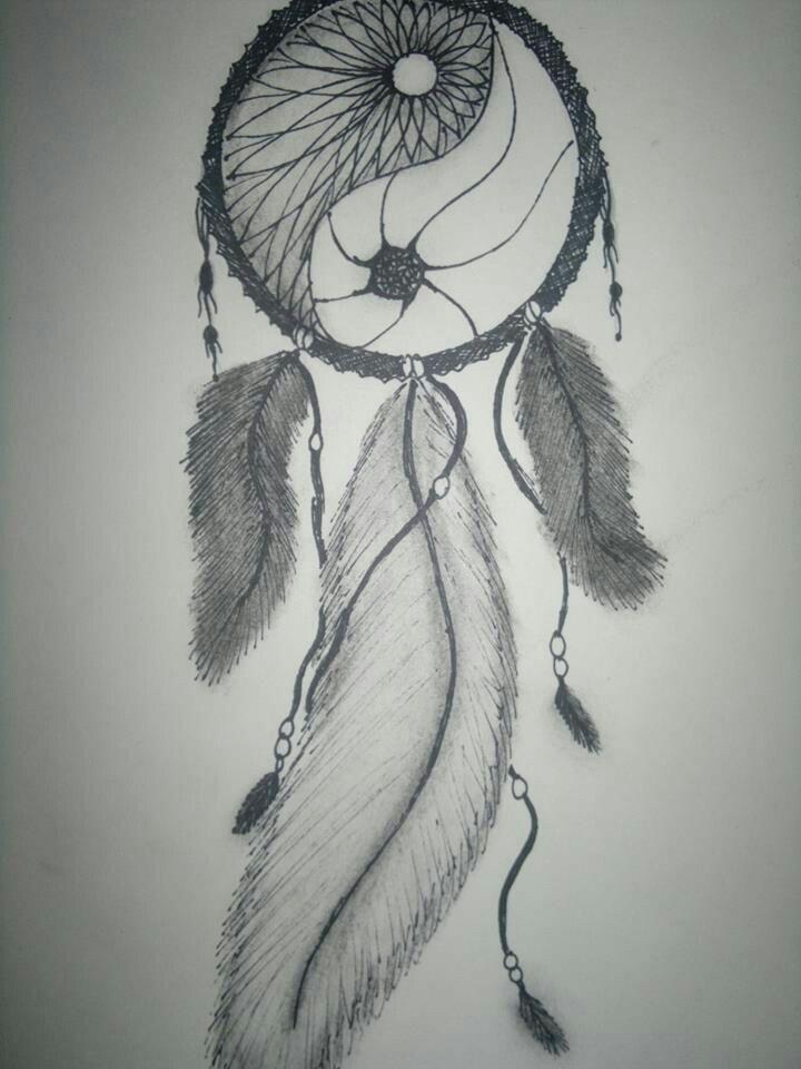 attrape rêve \u0026 yin yang