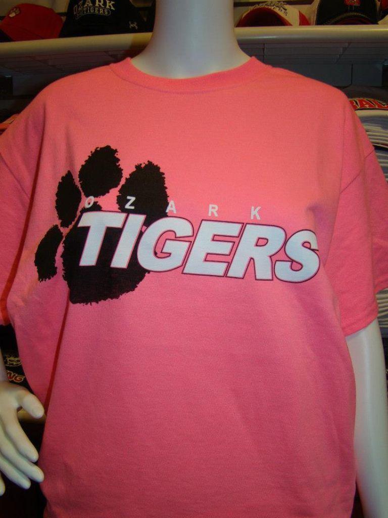 Ozark Tigers Tee Apparel Tees Shirts