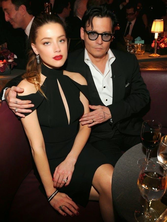 Johnny Depp Amber Heard Put Their Wedding On Hold Due To Relationship Turmoil Report 2014 Johnny Depp And Amber Amber Heard Johnny Depp Johnny Depp