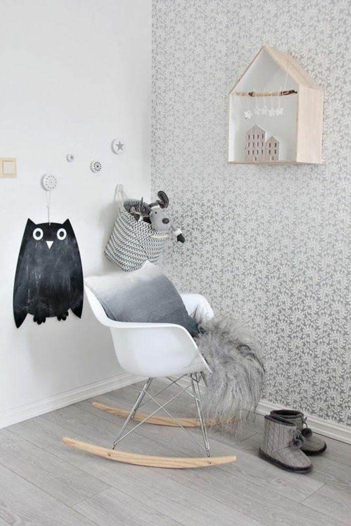 Tapete in Grau - stilvolle Vorschläge für Wandgestaltung - Archzine ...
