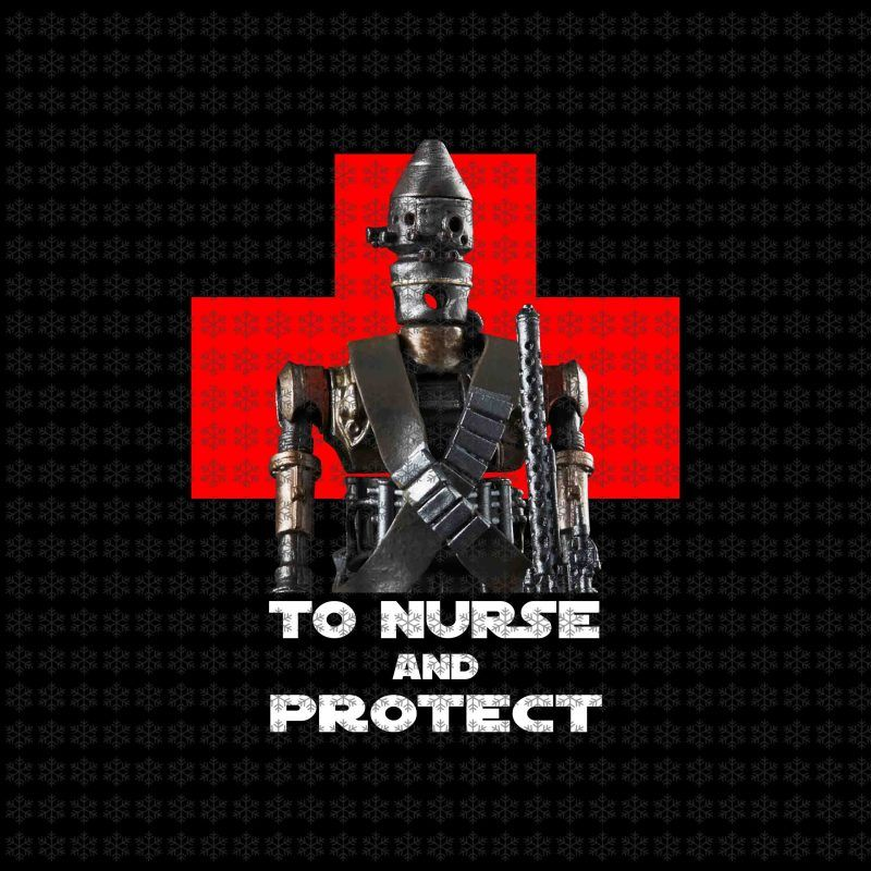 To Nurse And Protect Png Baby Yoda Png Star Wars Png Jpg Files T Shirt Designs For Sale
