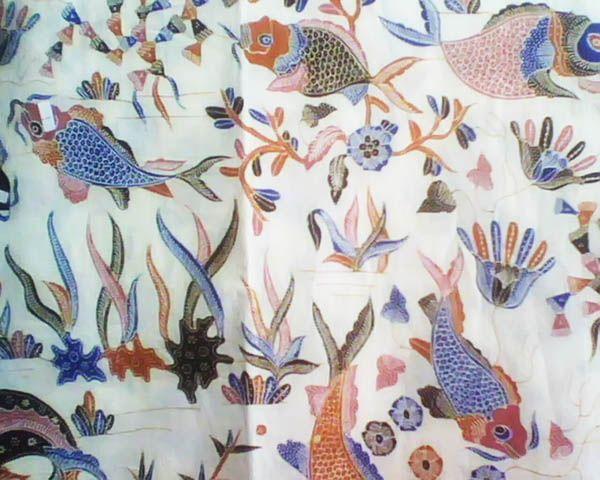 Kompeni Ikan Laut Love Indonesian Batik Pinterest Textiles