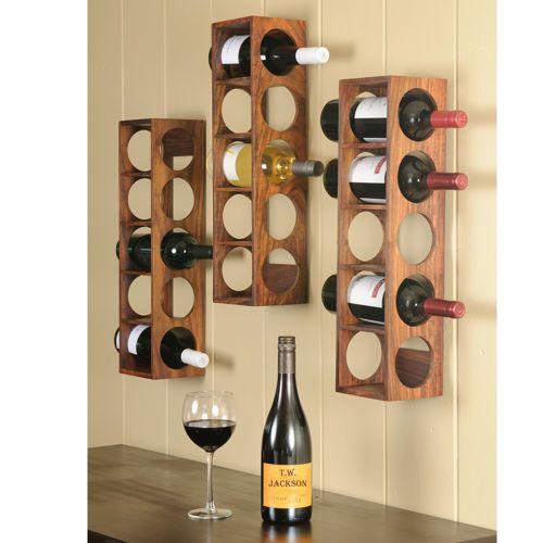 porthole style wine racks