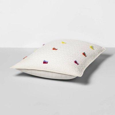 standard pillow sham cream
