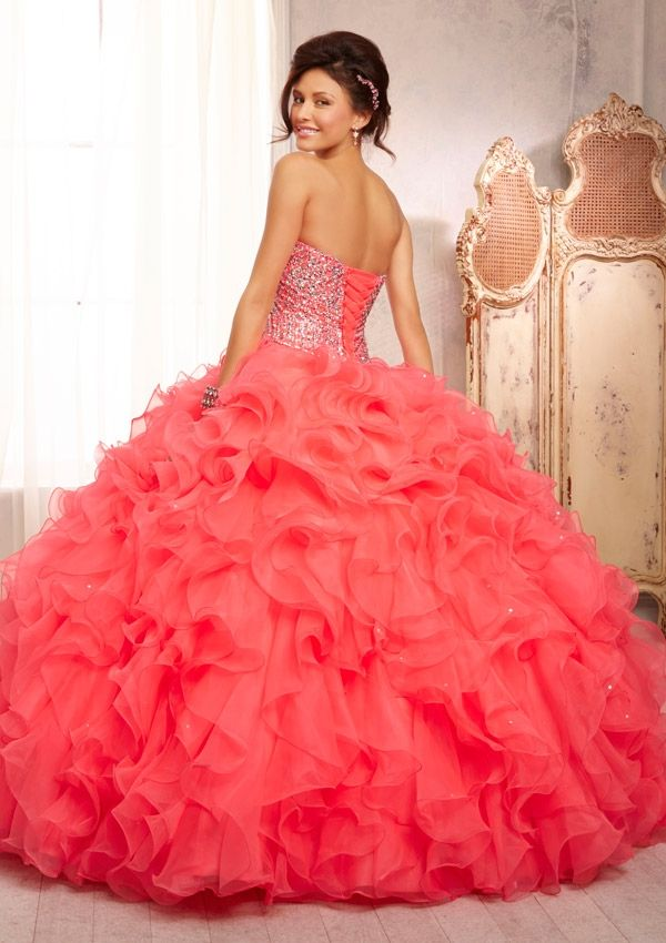 Quinceanera Dress From Vizcaya By Mori Lee Style 88089 All Over ...