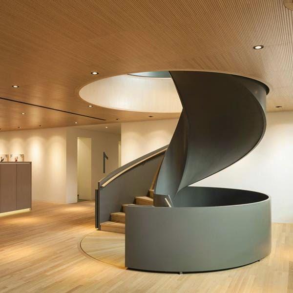 gm tech center spiral stair – Google Search – Trend Home