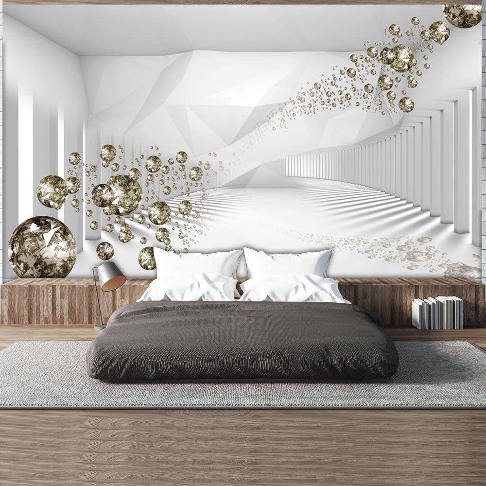 Xxl Wallpaper Corridor Of Diamonds 3d Wallpaper Murals Uk 3d Wallpaper For Bedroom Girl Bedroom Designs Luxurious Bedrooms