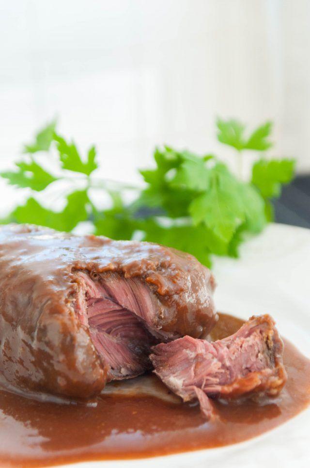 Carrilleras De Ternera Al Vino Tinto Cocina Costarricense