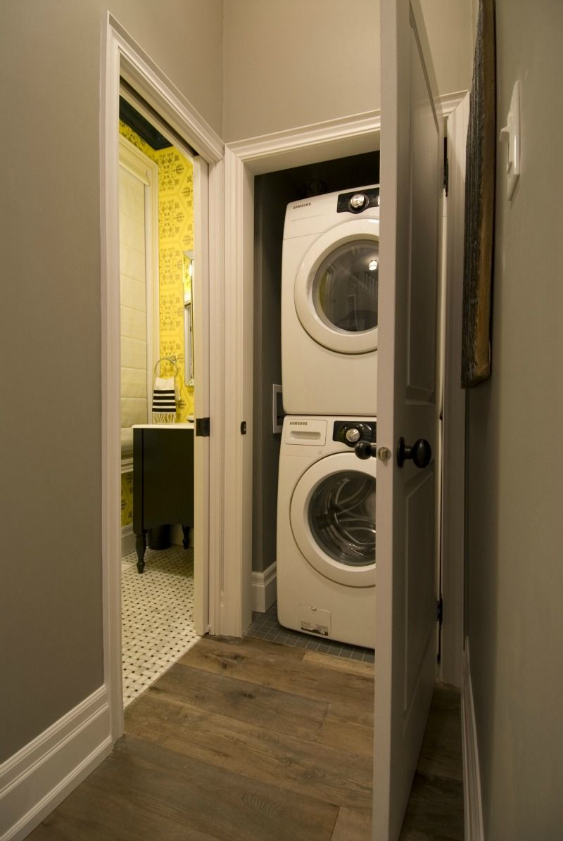 Main Floor Laundry And Powder Room Hgtv Income Property