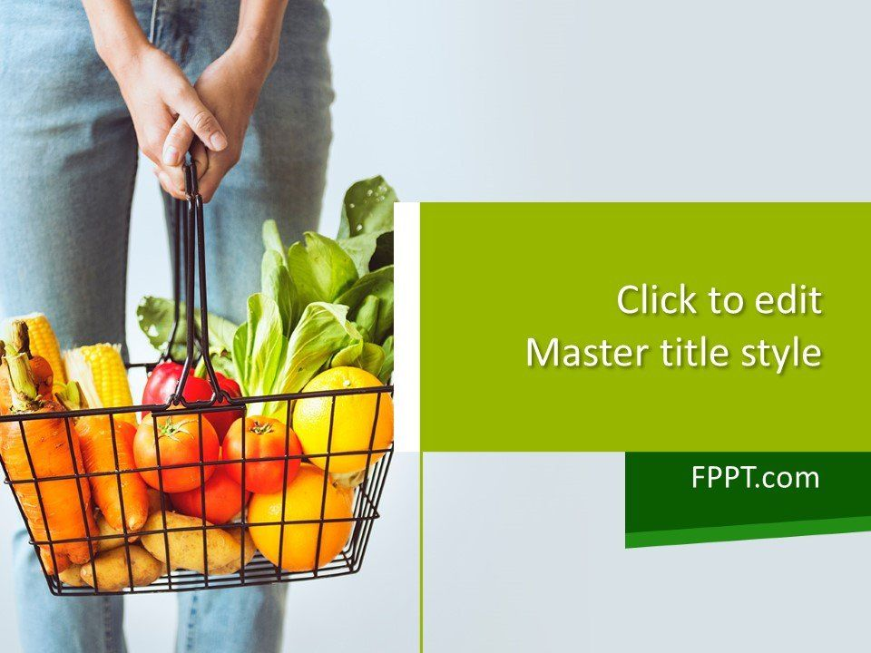 Free Organic Powerpoint Template Powerpoint Template Free Fruit