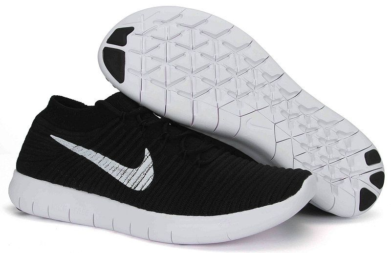 huge selection of 9cae5 d5cce How To Buy Womens Nike Free RN Motion Flyknit 834584 001 Black White