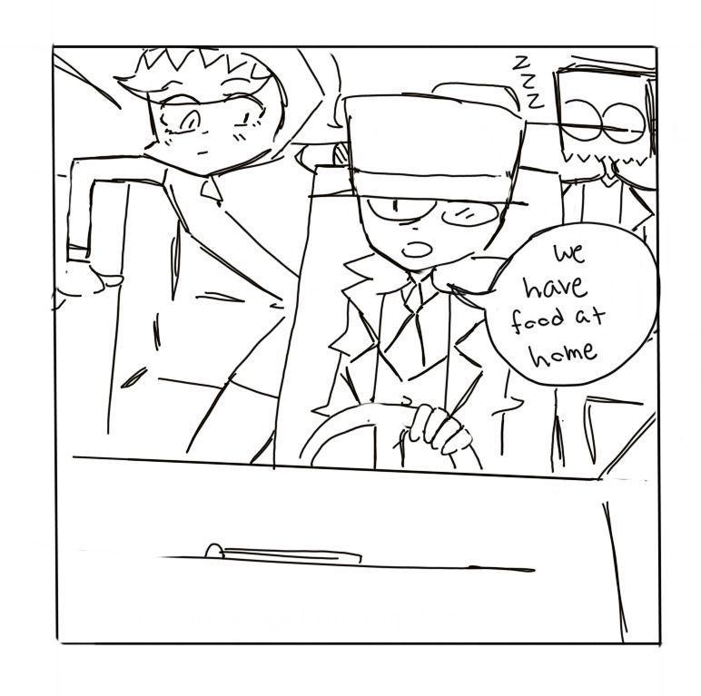 D: Oye, ¿podemos ir a McDonald's?