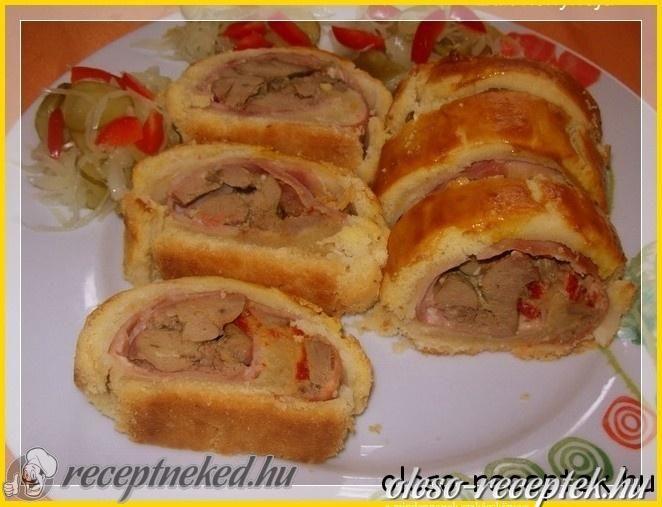 A legjobb Csirkemájas tekercs recept fotóval egyenesen a Receptneked.hu gyűjteményéből. Küldte: Vass Lászlóné