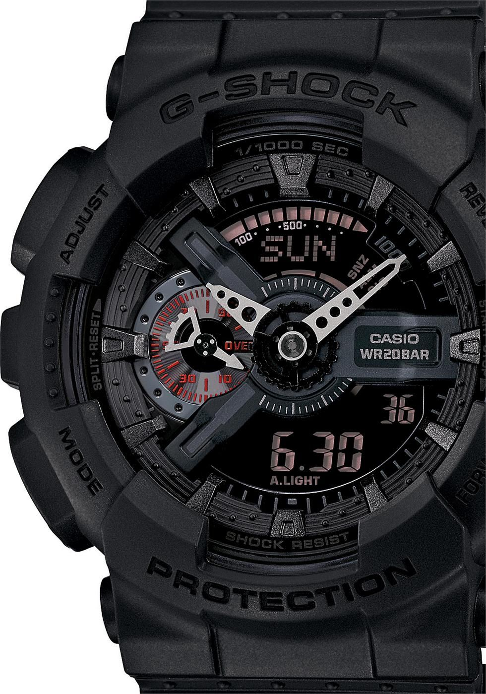 a6cf1d9aa1451a G-Shock Classic Military X-Large Matte Black | Watch | Casio g shock ...