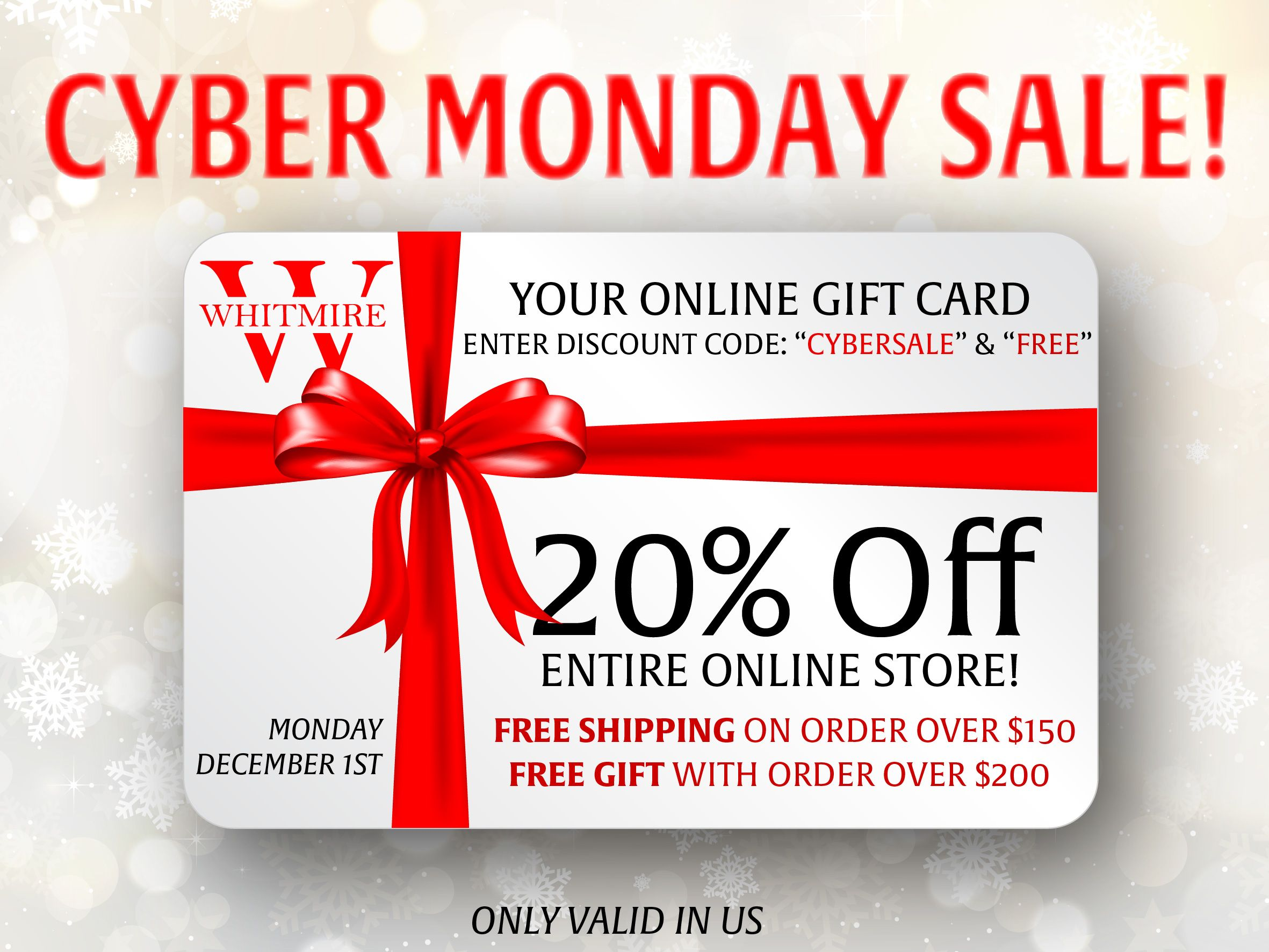 Cybermonday Cybermondaysale Jewelrysale Cybersale Blackfriday Jewelry Online Gift Cards Cyber Monday Sales Free Gifts