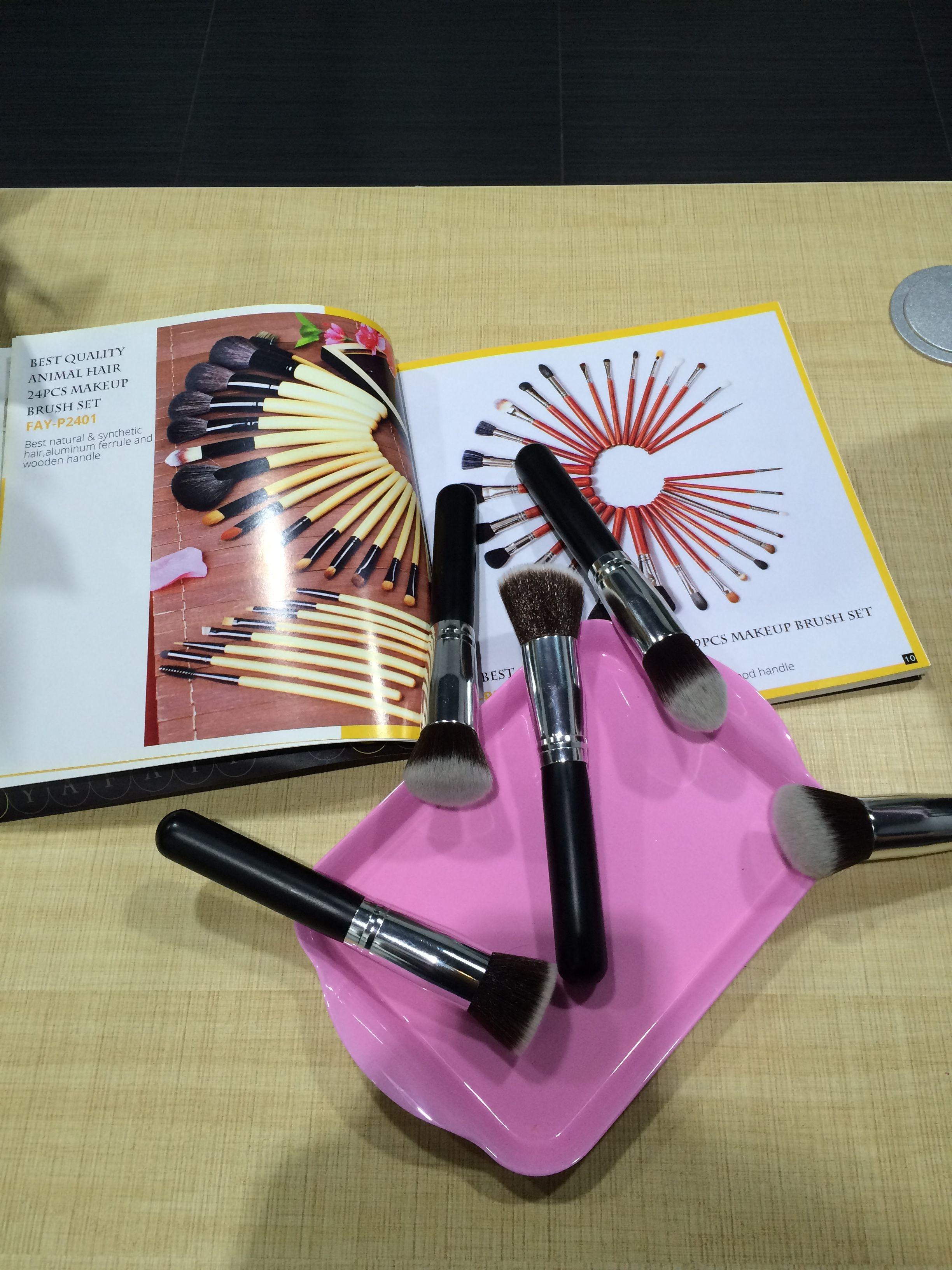 Makeup brushes of Docolor Makeup brush set, Makeup