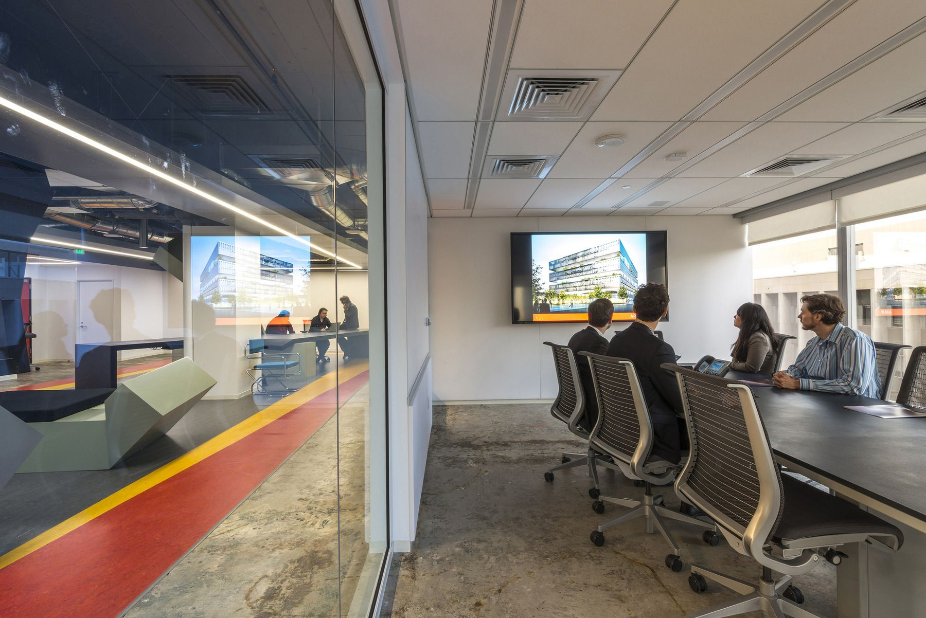 Office Tour Arup Los Angeles Offices Architect Office Interiors Workspace Design