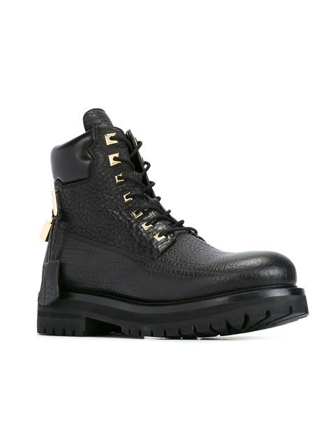 Buscemi 2017 Lace-Up Combat Boots cheap tumblr bGobWK9mGC