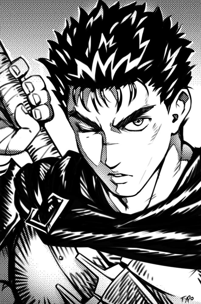 Guts By Optionaltypo On Deviantart Berserk Aesthetic Anime Drawings