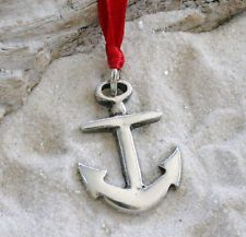 ANCHOR Pewter Christmas ORNAMENT