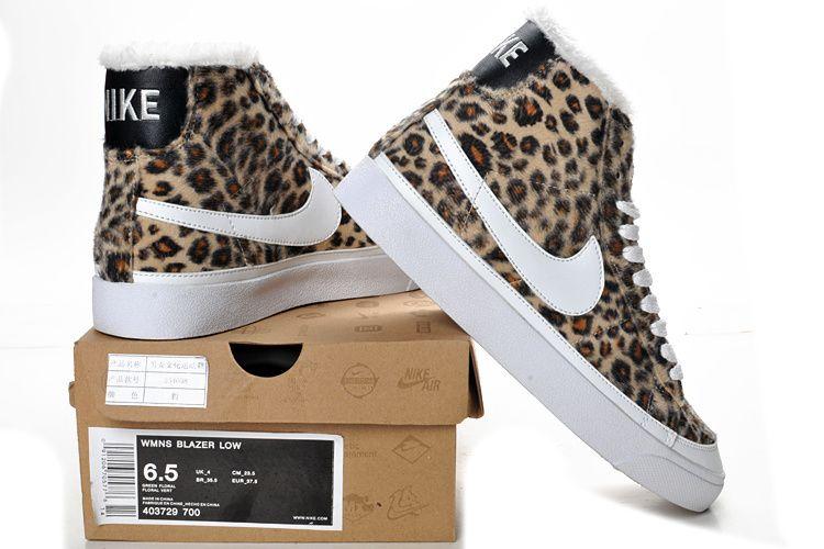 Femmes Nike Blazer Solde High Leopard Chaussures [NIkeBlazer#1544] - €50.79  :