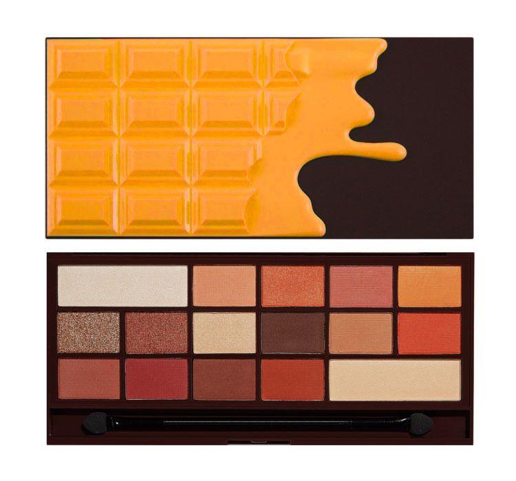 Makeup Revolution Orange Chocolate Paleta Cieni Do Powiek Sklep Cocolita Makeup Revolution Chocolate Palette Chocolate Orange
