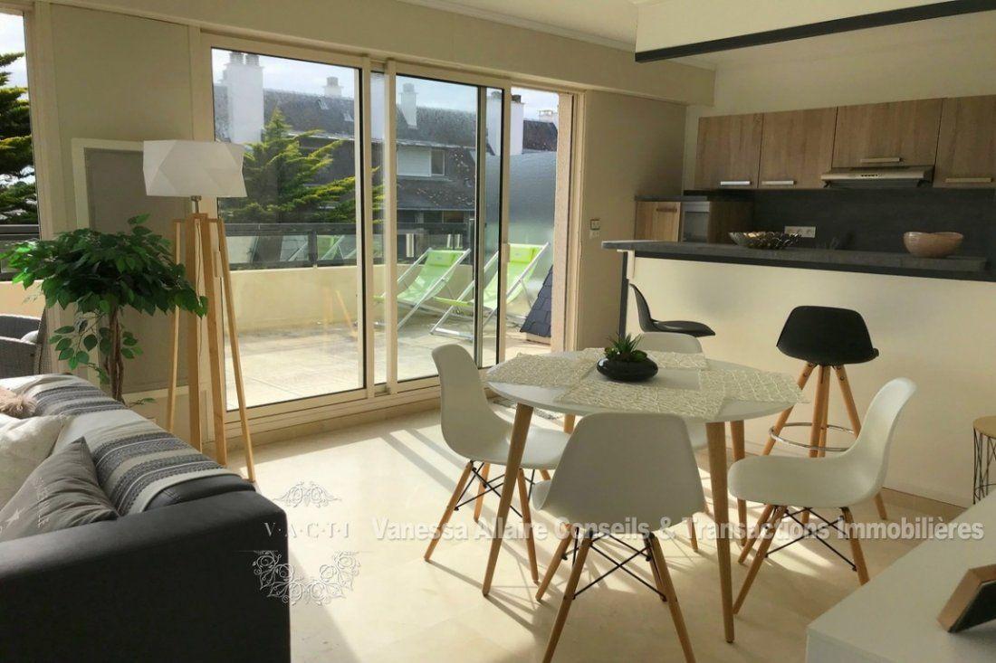 Espace Atypique La Baule la baule vente appartement 61m² 2 pièces   cuisine