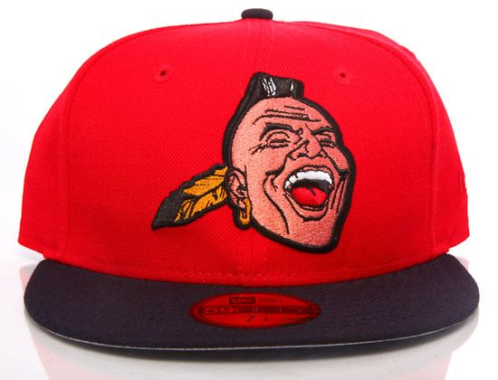 The Atlanta Braves Cap Pays Tribute To Their Original Mascot Chief Noc A Homa Knock A Homer Atlanta Braves Braves Atlanta