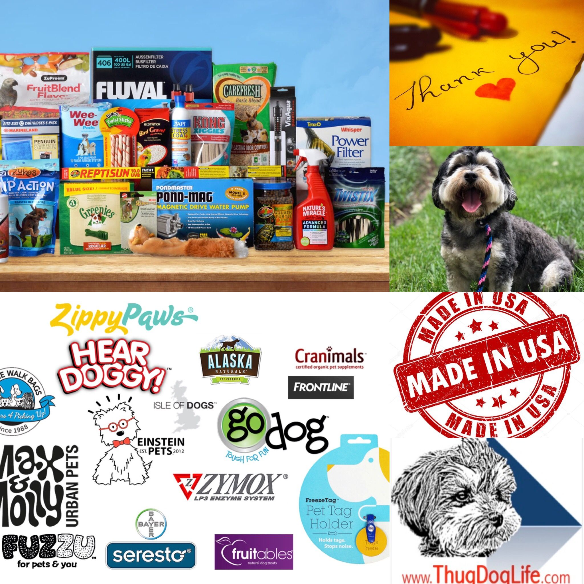 A sample of products, trusted brands, and our fearless
