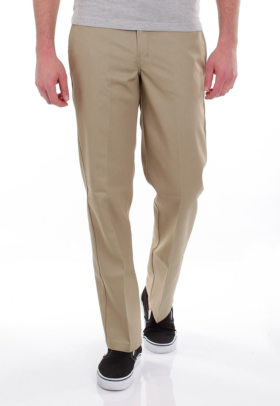 ac032b896d3 Dickies - Slim Straight Work 873 Khaki - Pants