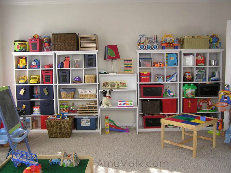 Finished Toy Room After Organizing Organizing For Kids