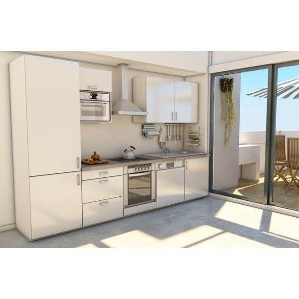 r sultat de recherche d 39 images pour cuisine 3 m lineaire d co. Black Bedroom Furniture Sets. Home Design Ideas