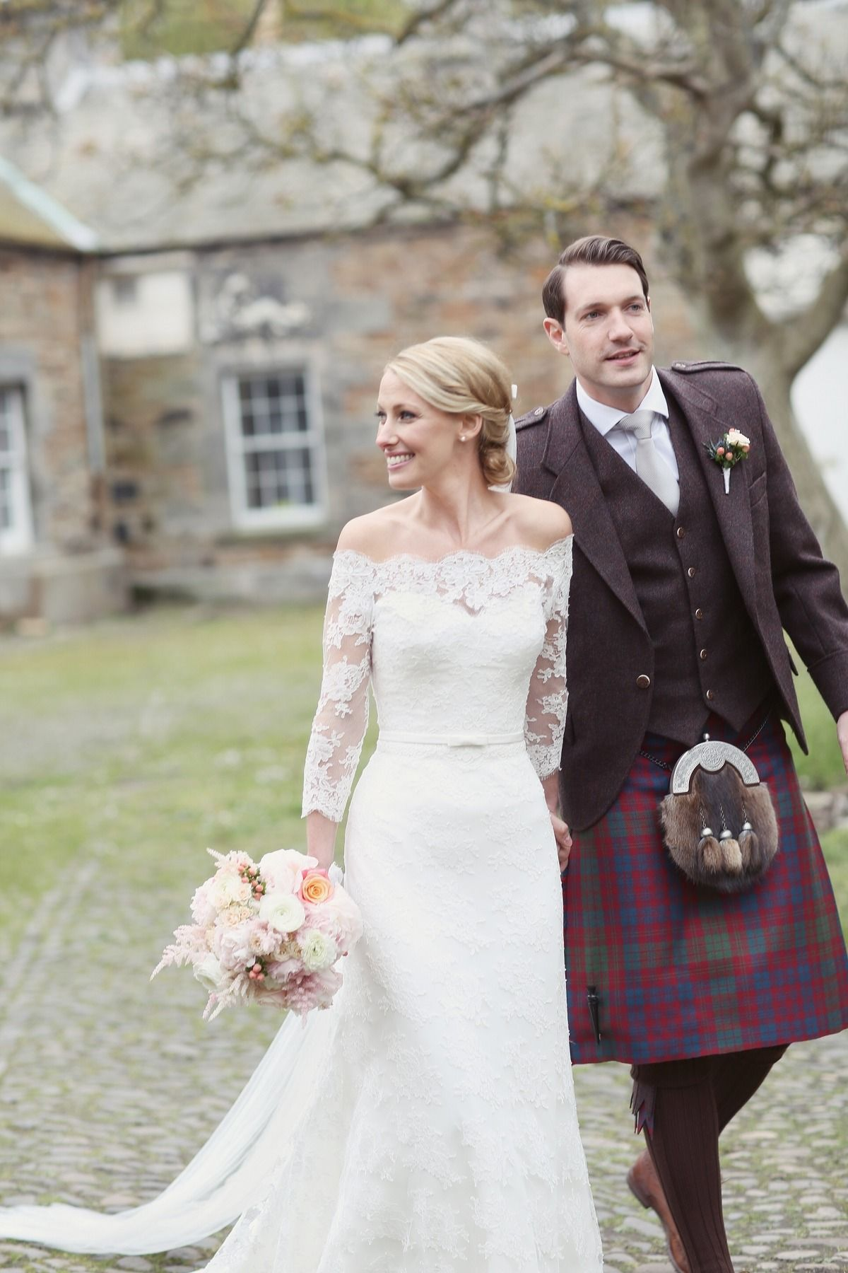 Completely Classic Scotland Estate Wedding